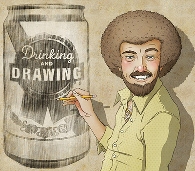 Drinking & Drawing - Every Wednesday at Kingsdown Vaults in Bristol