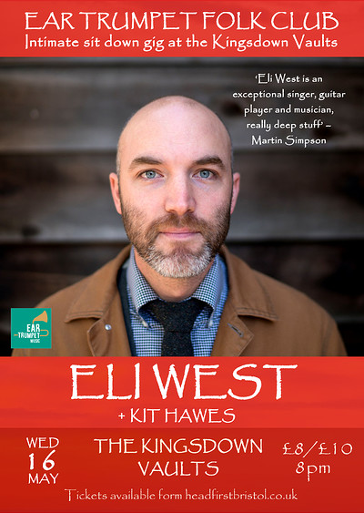 Eli West plus support - Kit Hawes at Kingsdown Vaults in Bristol