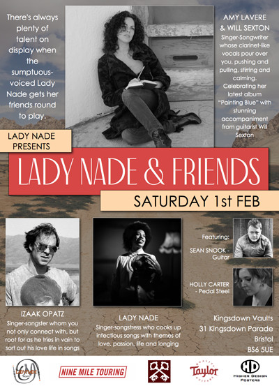 LADY NADE & FRIENDS at Kingsdown Vaults in Bristol