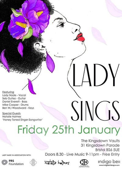 LADY SINGS... at Kingsdown Vaults in Bristol