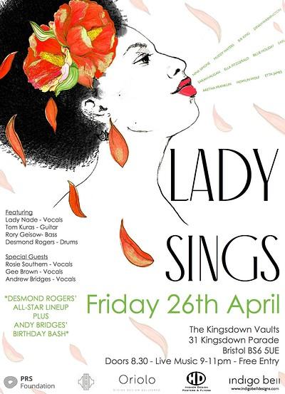 Lady Sings at Kingsdown Vaults in Bristol