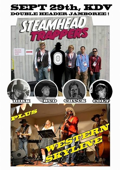 Steamhead Trappers at Kingsdown Vaults in Bristol