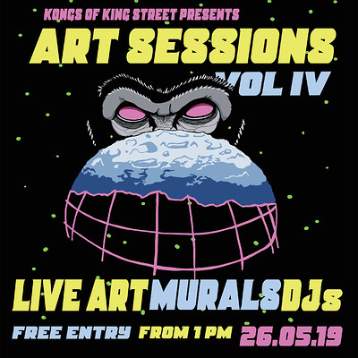 Art Session: Vol IV at Kongs of King Street, Bristol in Bristol