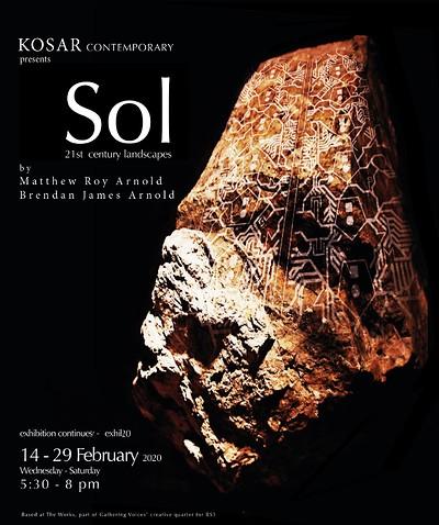 Sol: An immersive exhibition at Kosar Contemporary at Kosar Contemporary in Bristol