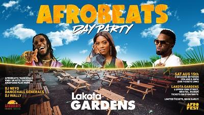 Afrobeats Day Party at Lakota Gardens at Lakota in Bristol