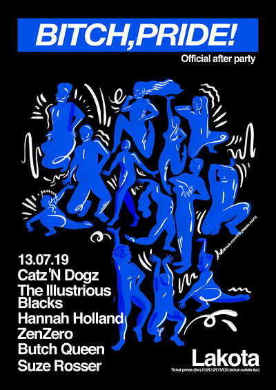 B. Pride! Official Pride Afterparty with Catz 'N D at Lakota in Bristol