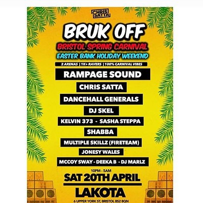 Bruk Off - Bristol Spring Carnival at Lakota in Bristol