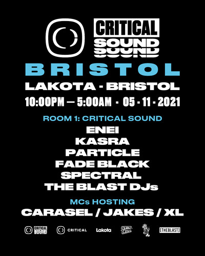 Critical Sound // Bristol 2021 at Lakota in Bristol
