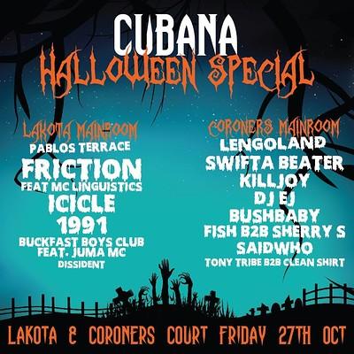 Cubana Halloween Special at Lakota in Bristol