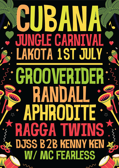 Cubana - Jungle Carnival  at Lakota in Bristol