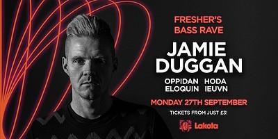 Freshers' Bass Rave: Jamie Duggan at Lakota in Bristol