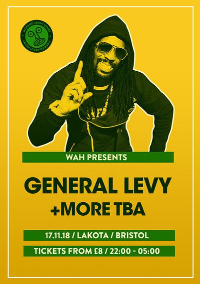 General Levy + More TBA at Lakota in Bristol
