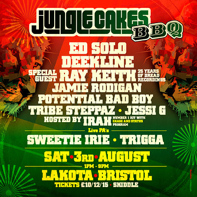 Jungle Cakes BBQ at Lakota in Bristol