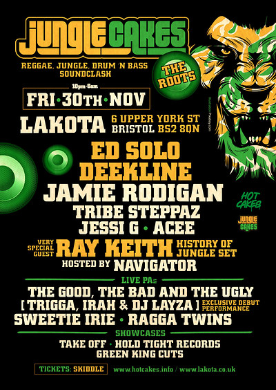 Jungle Cakes - The Roots at Lakota in Bristol