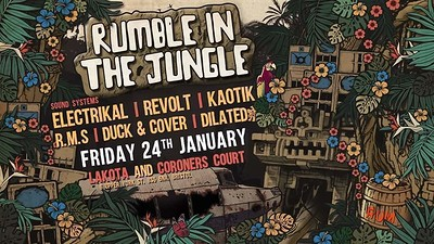 Rumble In The Jungle - The 6th Birthday Extravagan at Lakota in Bristol