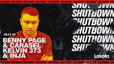 Shutdown: Benny Page & Carasel / Kelvin 373 & Inja at Lakota in Bristol