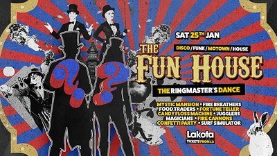 The Fun House: The Ringmaster's Dance! at Lakota in Bristol