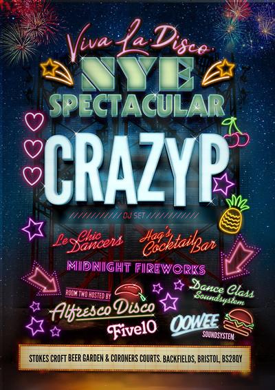 Viva La Disco - NYE Spectacular with Crazy P at Lakota in Bristol