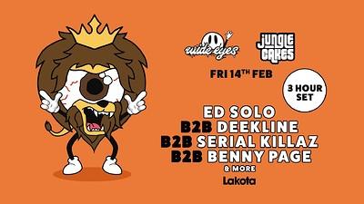 WE x Jungle Cakes: Ed Solo, Benny Page, Serial Kil at Lakota in Bristol