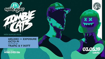 Wide Eyes Presents: Zombie Cats & A R Records at Lakota in Bristol