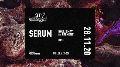 WIDE EYES: Serum, Hollie-May B2B Frenetic, BISH at Lakota in Bristol