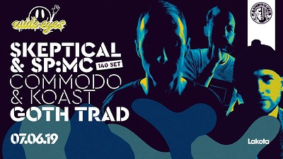 Wide Eyes: Skeptical (140 Set) / Commodo / Goth Tr at Lakota in Bristol