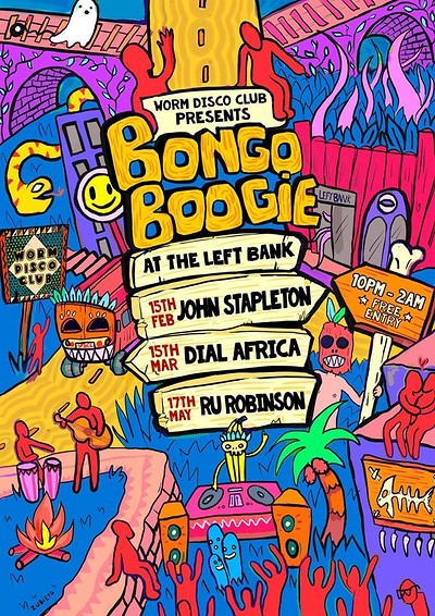 Bongo Boogie at LEFTBANK in Bristol