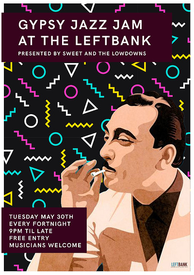 Gypsy Jazz Jam at LEFTBANK in Bristol