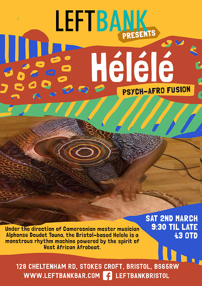 Hélélé at LEFTBANK in Bristol