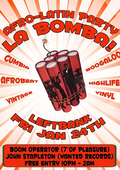 LA BOMBA at LEFTBANK in Bristol