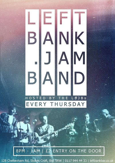 Leftbank Jam Band at LEFTBANK in Bristol