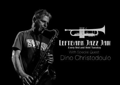 LeftBank Jazz Jam feat. Dino Christodoulou at LEFTBANK in Bristol