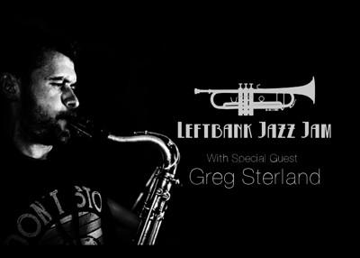 LeftBank Jazz Jam Feat. Greg Sterland at LEFTBANK in Bristol
