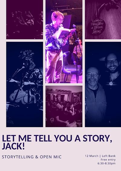 Let Me Tell You a Story, Jack - Mayhem & Madness at LEFTBANK in Bristol