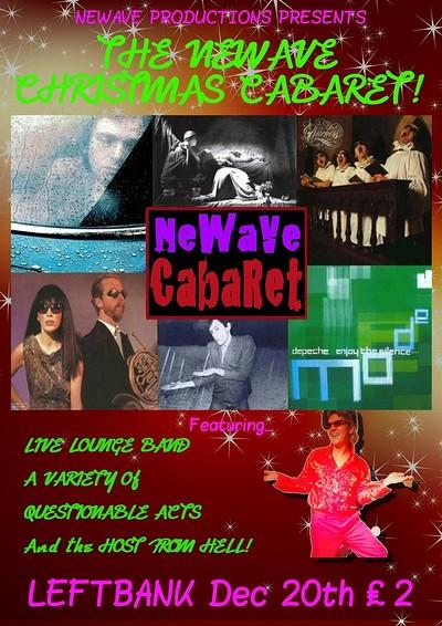 NeWave Cabaret at LEFTBANK in Bristol