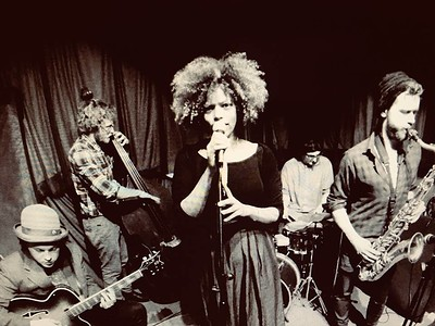 Priscilla Andersohn and the Blazz Jaggers at LEFTBANK in Bristol