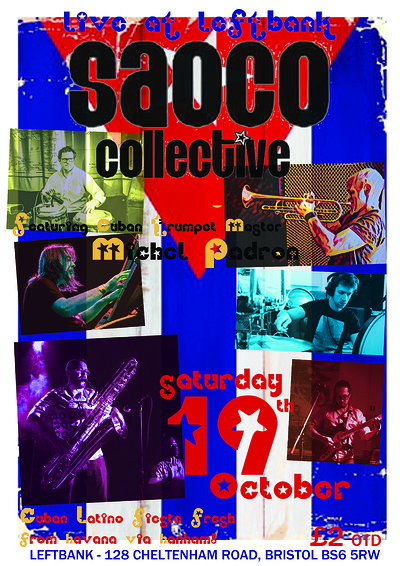 SAOCO COLLECTIVE at LEFTBANK in Bristol