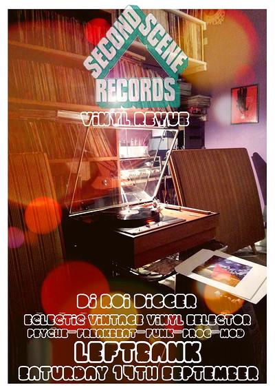 SECOND SCENE RECORDS PRESENT... at LEFTBANK in Bristol