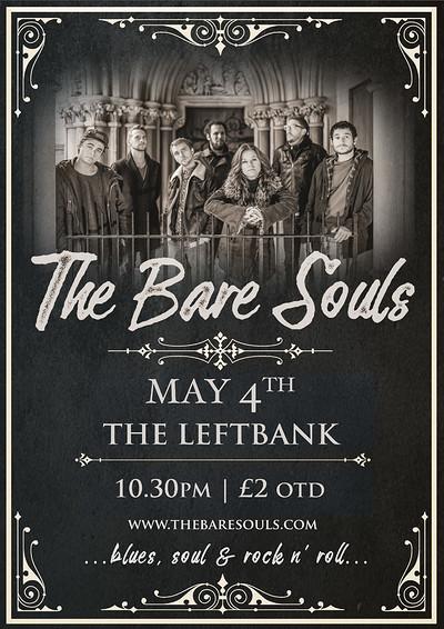 The Bare Souls live at LeftBank at LEFTBANK in Bristol
