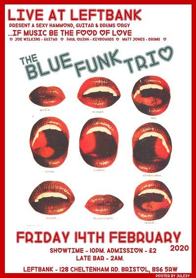 The Blue Funk Trio at LEFTBANK in Bristol