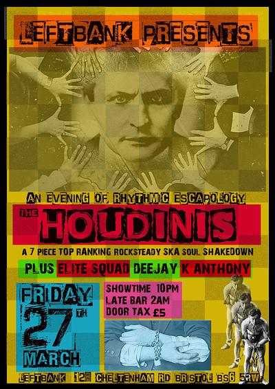 THE HOUDINIS / ELITE SQUAD DJS at LEFTBANK in Bristol