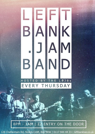 The Leftbank Jam Band at LEFTBANK in Bristol
