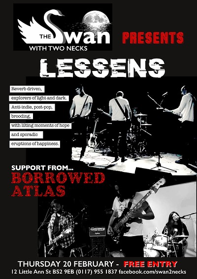 Lessens w/ Borrowed Atlas at Lessens w/ Borrowed Atlas in Bristol