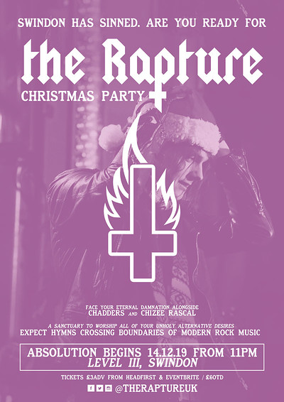 ✞ The Rapture - Christmas Party @Level III ✞ at Level III, Swindon in Bristol
