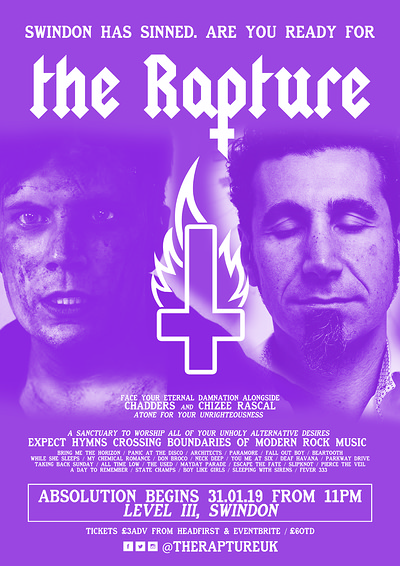 ✞ The Rapture - Swindon ✞ at Level III  in Bristol