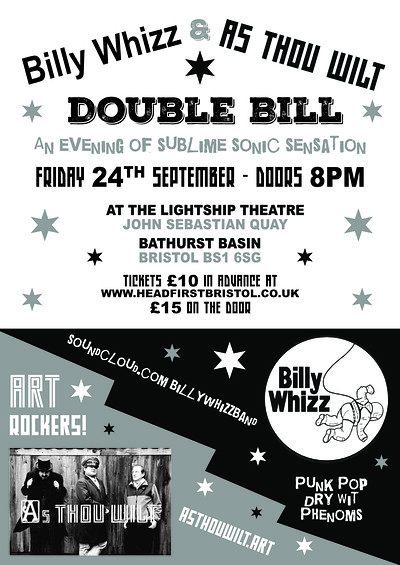 Billy Whizz & As Thou Wilt at the Lightship at Lightship in Bristol