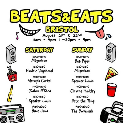 Beats & Eats Bristol at Lloyds Amphitheatre in Bristol