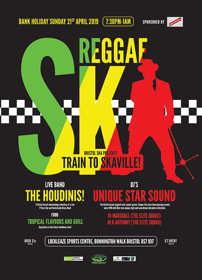 Bristol Ska Presents 'Train To Skaville' at Lockleaze sports centre in Bristol