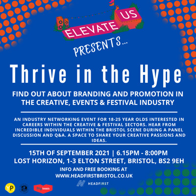 Elevate Us: Thrive in the Hype at Lost Horizon Arts Centre & Bar, Central Bristol in Bristol