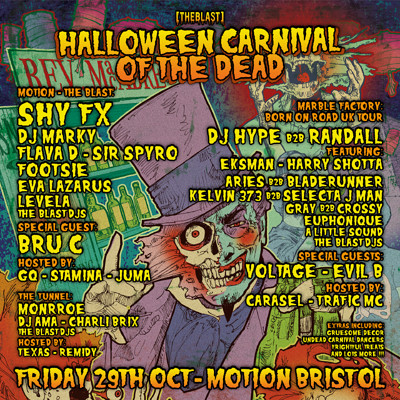 [THE BLAST] Halloween Carnival of the Dead at Motion in Bristol
